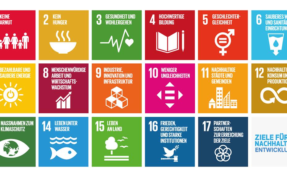 Die 17 Nachhaltigen Entwicklungsziele